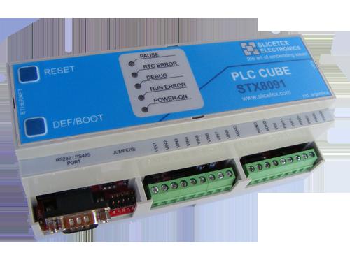 STX8091 PLC CUBE